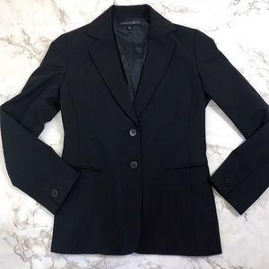 Lafayette 148 Long Modern Fit Wool Blazer